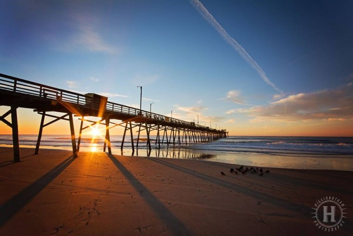 Bogue Inlet Fishing Pier Sunrise
